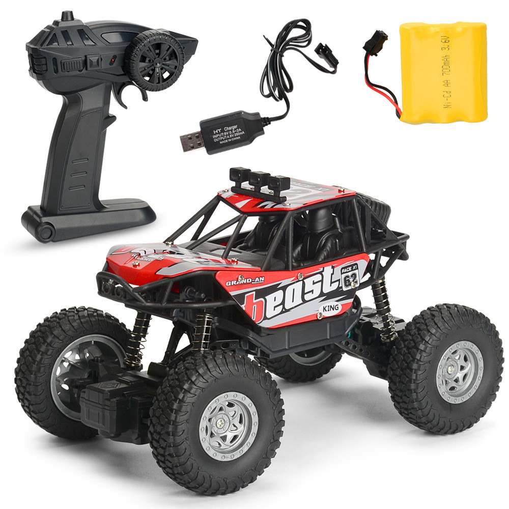 1PC MG A601 1/20 2.4G 4WD 15km/h Rc Car Rock Crawler Climbing Off-road Truck RTR Toy - Photo: 6