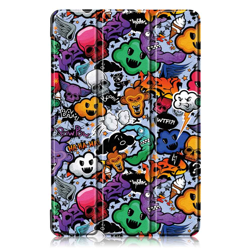 Tri-Fold Tablet Case Cover for Samsung Galaxy Tab S5E SM-T720 SM-T725 Tablet - Cloud
