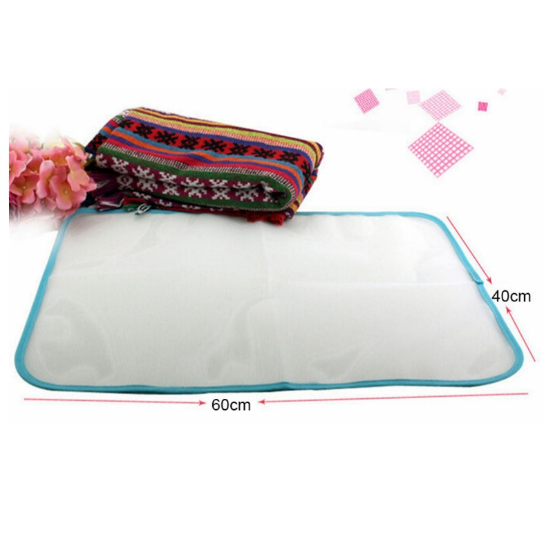 Honana Protective Press Mesh Ironing Cloth Guard Protect Delicate Garment Clothes Ironing Board Cover Mesh Cloth