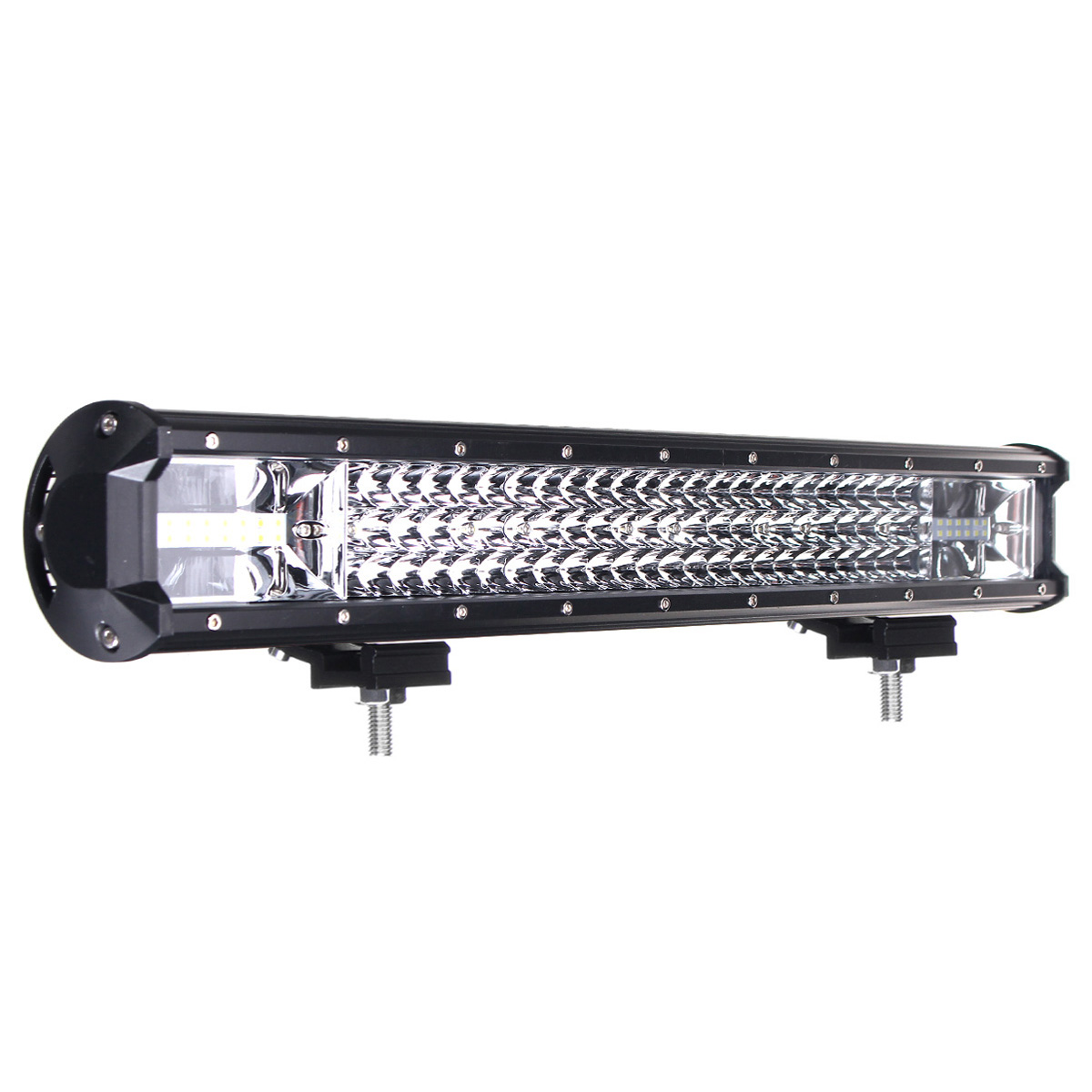 22 Inch 648W LED Light Bars Flood Spot Combo Beam Driving Lamp for Truck Off Road Boat