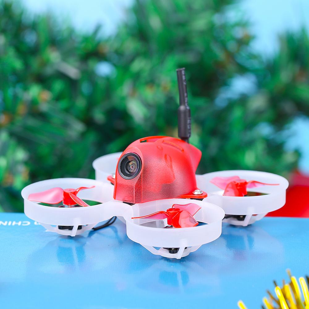 iFlight Alpha A65 Christmas Version 65mm 1S F4 AIO FC 5A ESC 48CH 25/50mW VTX Tiny Whoop RC Drone FPV Racing BNF w/800TVL Camera