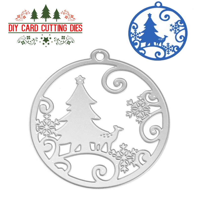 1PCS Christmas Scrapbook Cutting Die Diy