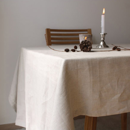 Simple Coffee Cotton Linen Tableware Mat Table Runner Tablecloth Desk Cover Bowl pad