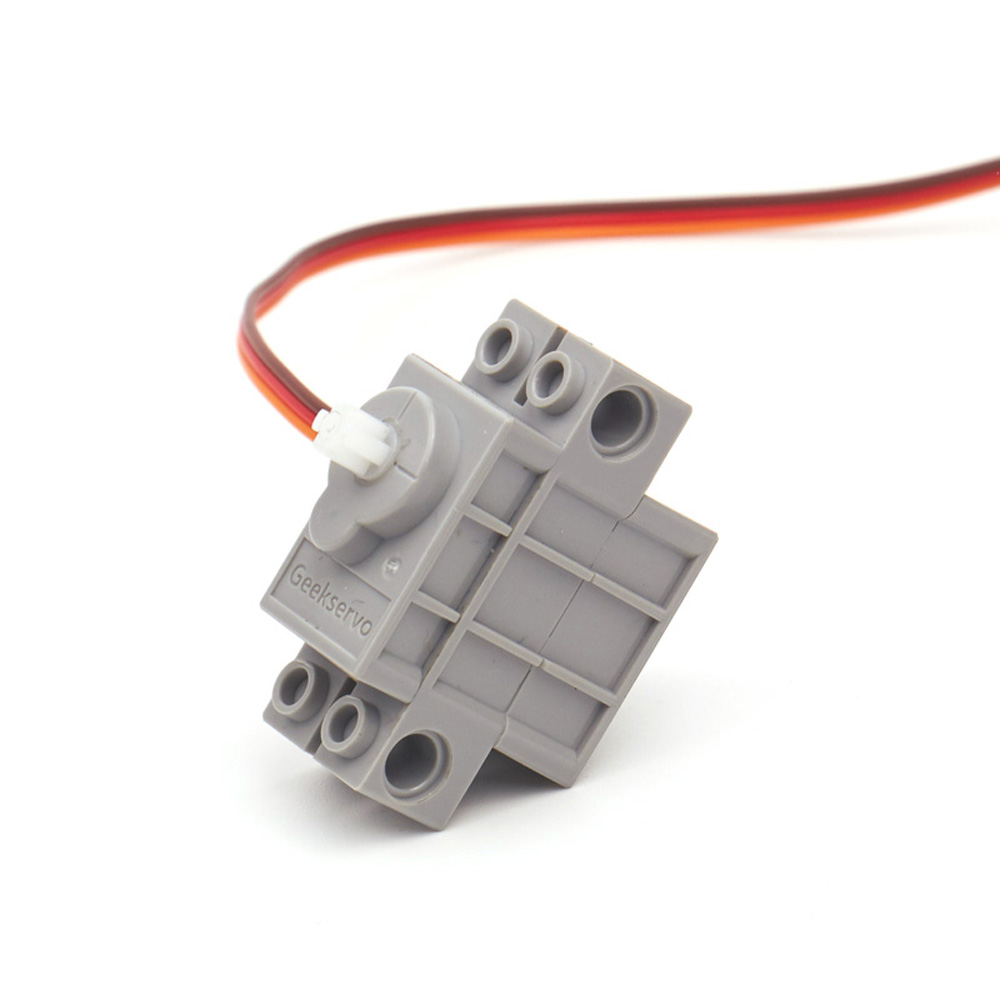 KittenBot 4Pcs 270 Gray Geek Servo with Wire for Lego/M