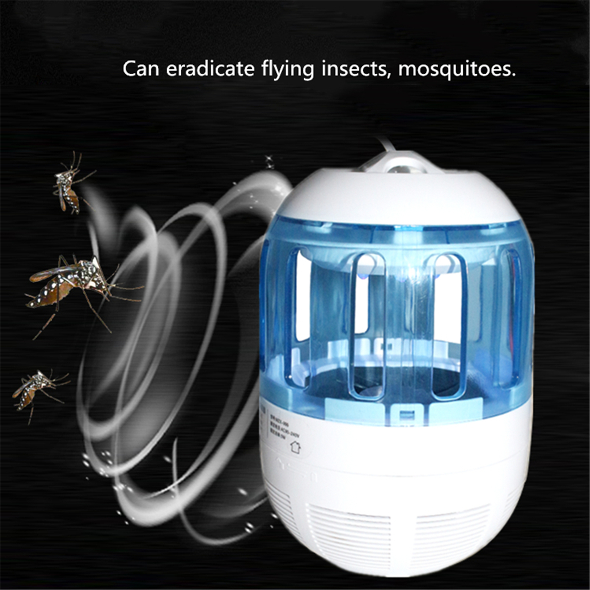 USB Mosquito Dispeller LED Mosquito Trap Fly Insect Killer UV Light Lamp Mosquito Killer with 360 Degree