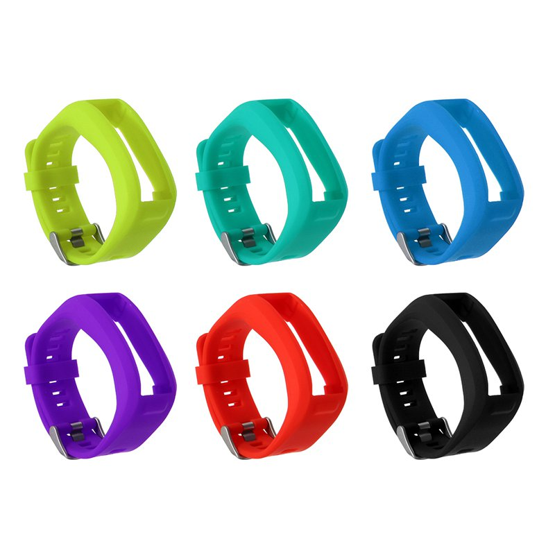 Silicone Wristband Watch Band Strap For Garmin Vivosmart HR