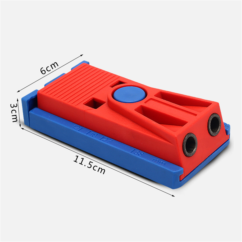 Pocket Hole Jig Woodworking Inclined Locator Oblique Hole Puncher Holder Drill Positioning Tool