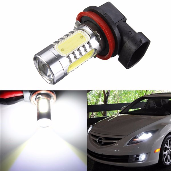 Xenon White H11 High Power COB LED Bulb For Car Driving Fog Light