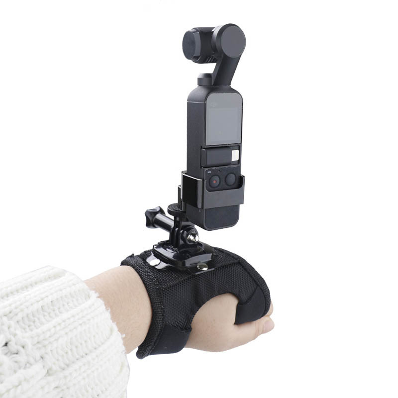 Osmo Pocket Palm Strap Fixed Band Adapter For GoPro Camera DJI OSMO Gimbal Accessories