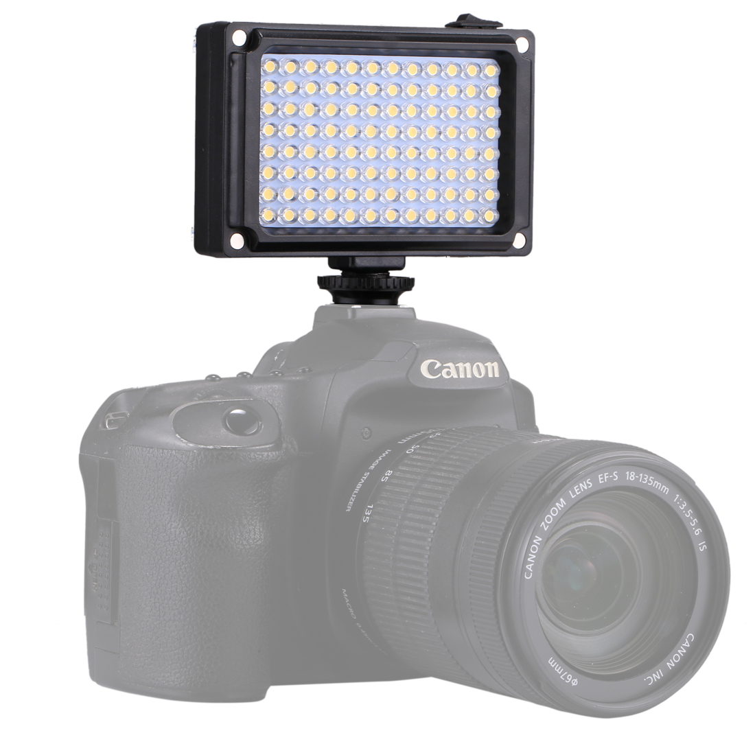 PULUZ PU4096 Pocket 96 LEDs 860LM Pro Photography Video Light Studio Light for DSLR Cameras