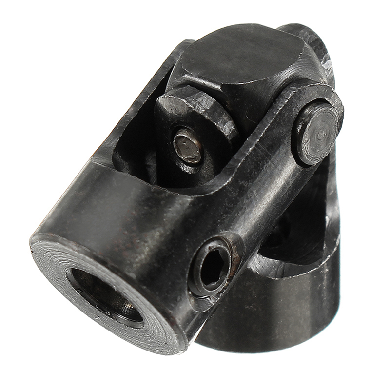 4mm to 4mm Black Joint Coupling Iron Small Cross Universal Joint Coupling