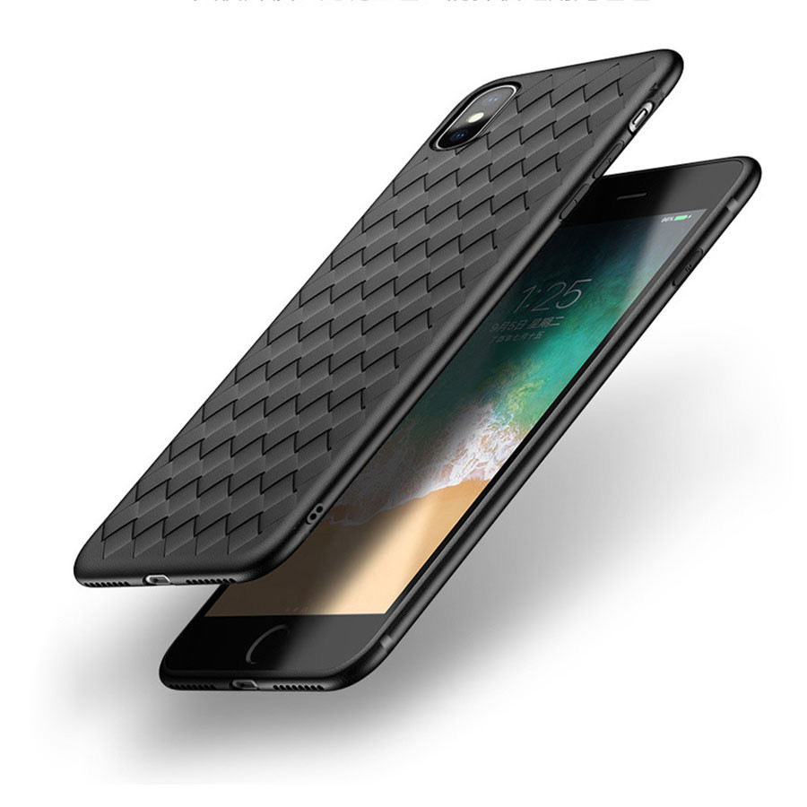 Bakeey BV Weaving Dissipating Heat Soft Silicone TPU Ca