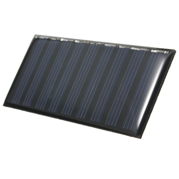 5V 0.5W Mini Polycrystalline Solar Panel