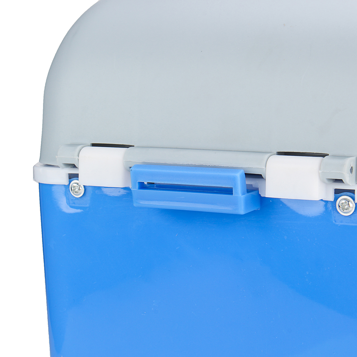 12V 7.5L Blue Portable Car Refrigerator Freezer Cooler Warmer Box Camping Fridge