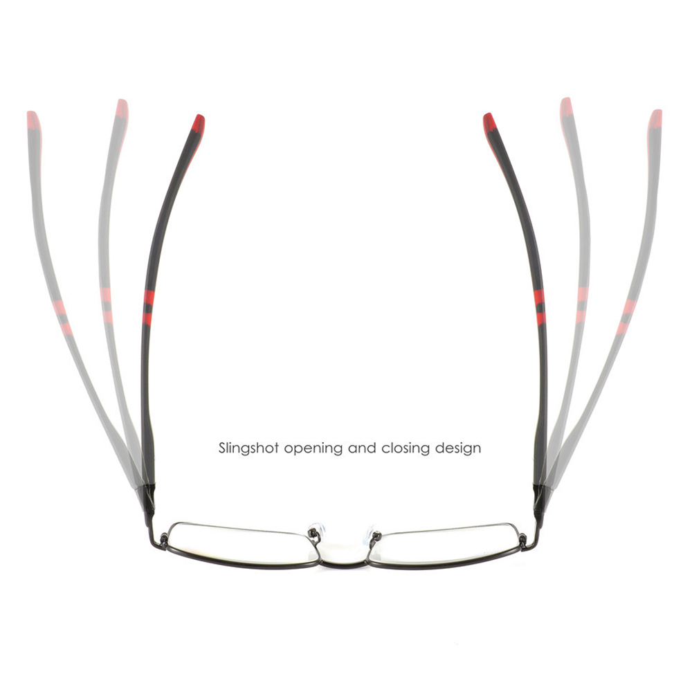Alloy Full Frame Reading Glasses Presbyopic Glasses
