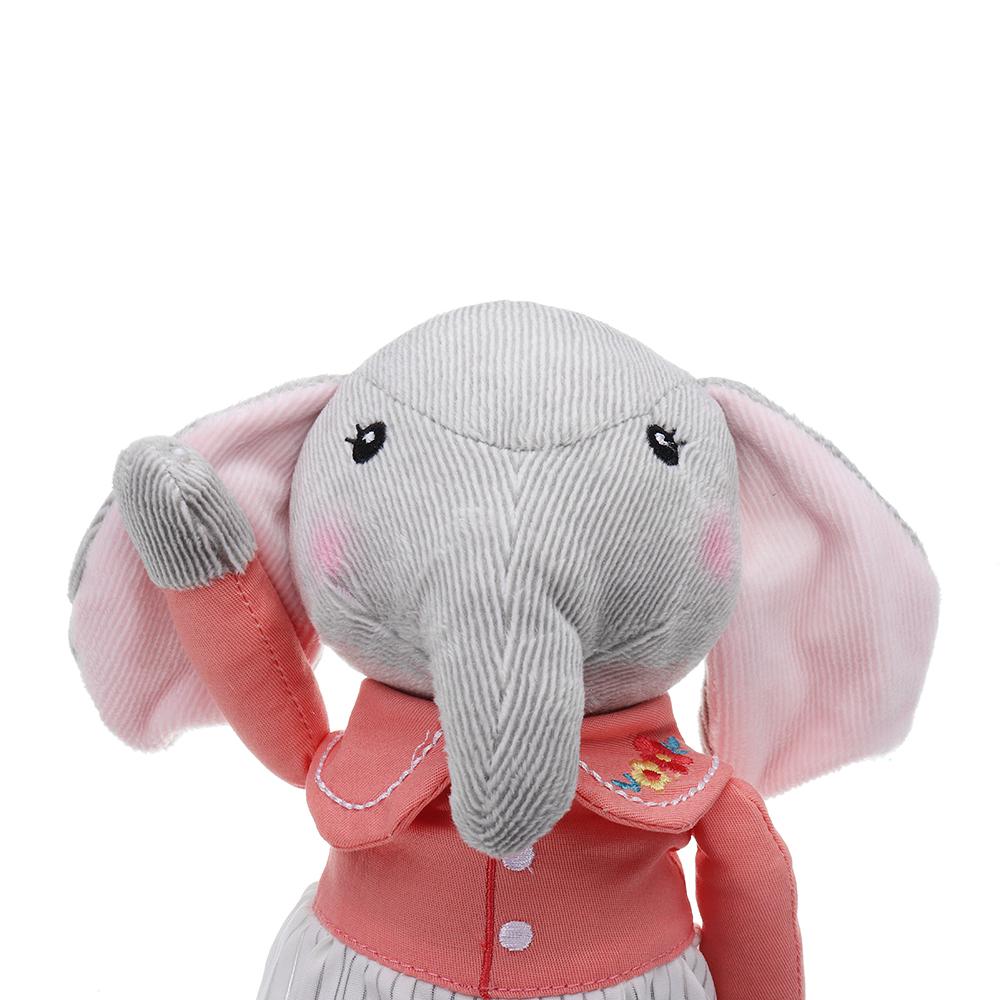 12.5 Inch Metoo Elephant Doll Plush Sweet Lovely Kawaii Stuffed Baby Toy For Girls Birthday