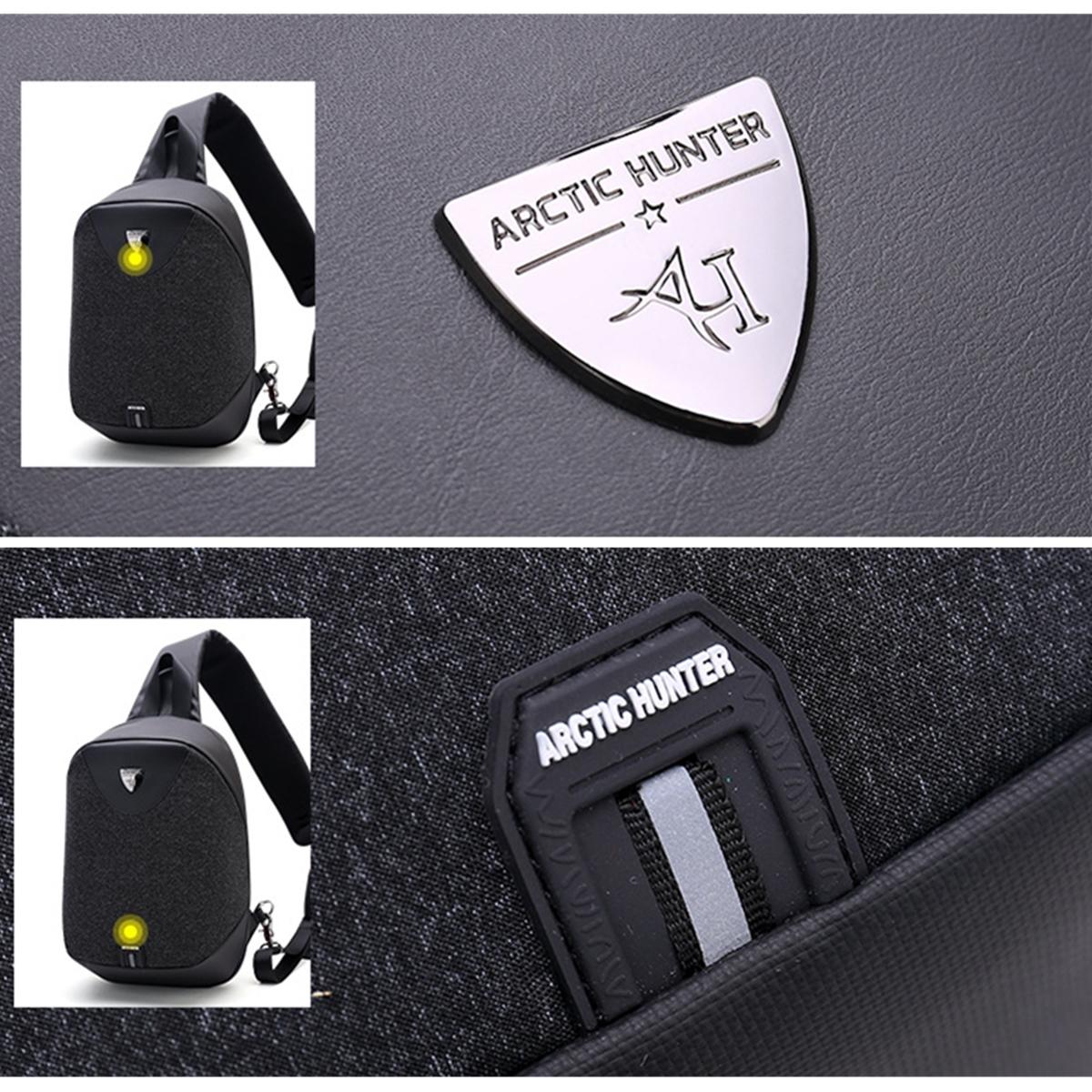 8L Men Women Anti Theft Sling Chest Bag Pack Outdoor Sport Travel Tablet Shoulder Handbag