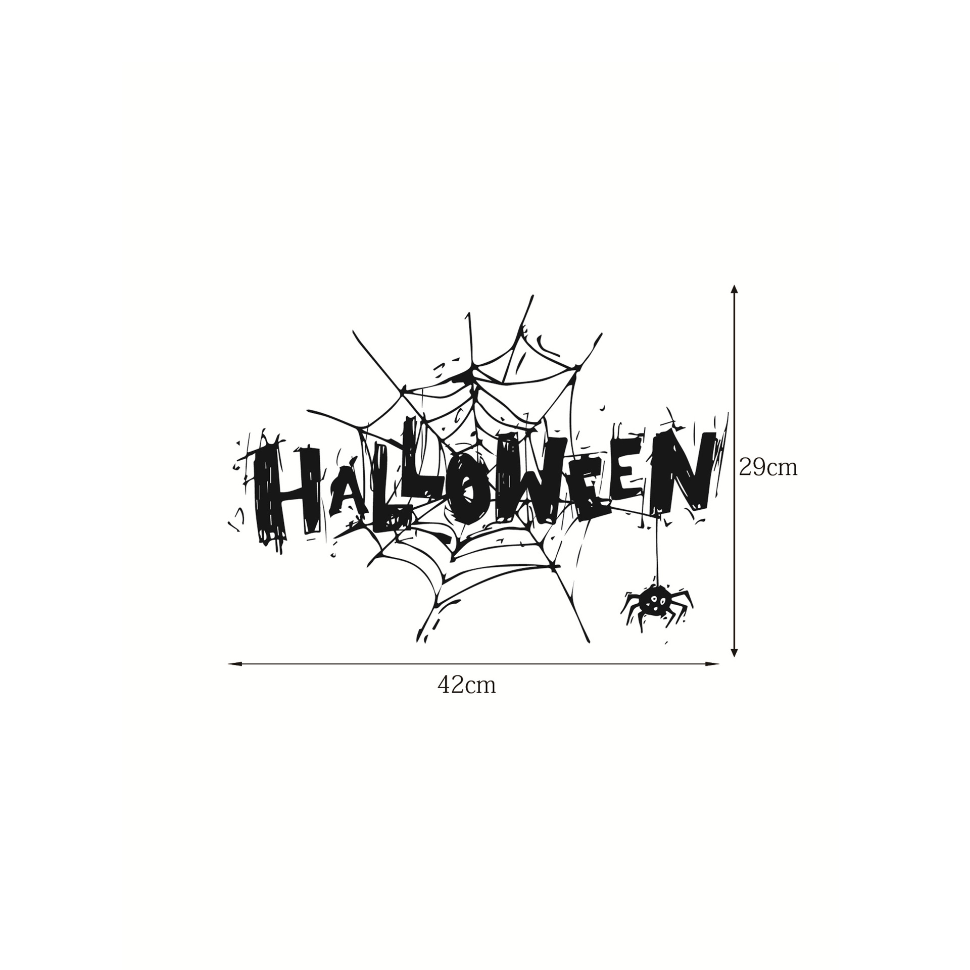 Happy Halloween Wall Sticker Room Decorations Mural Art Decal Sticker Murals Room Decal Wallpaper