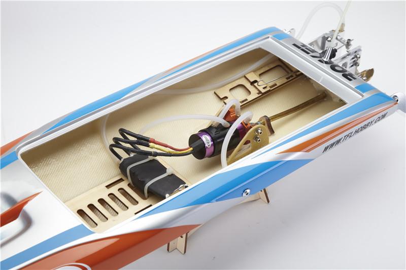 TFL Hobby 1111 Rocket FSR-OF Racing Boat 65cm 2958/2881KV Brushless Motor 70A ESC Fibreglass RC Boat