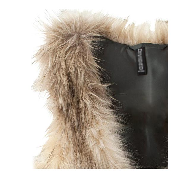 Fashion Casual Sleeveless Soft Faux Fur Jacket Coat