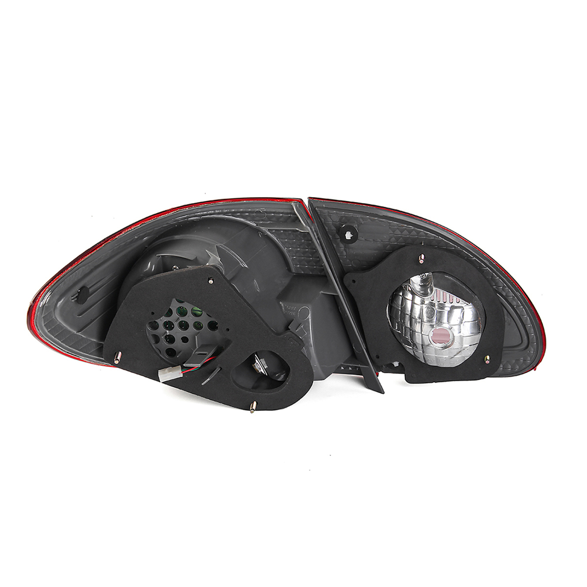 Car Rear Left Tail Light Cover Red with No Bulb for Toyota Corolla 2003-2008 TO2800144