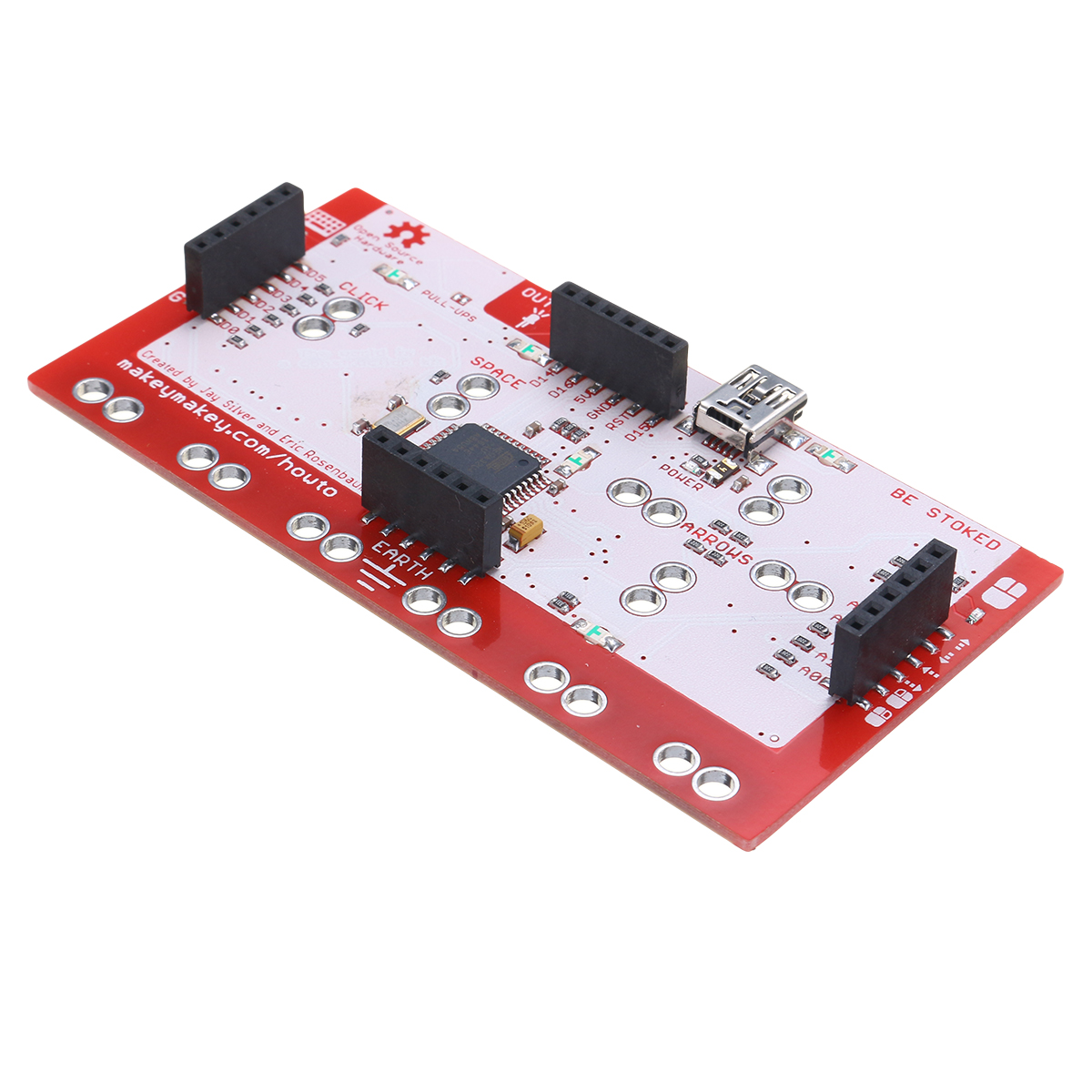 Alligator Clip Jumper Wire Standard Controller Board Kit for Makey Makey Science Toy 26