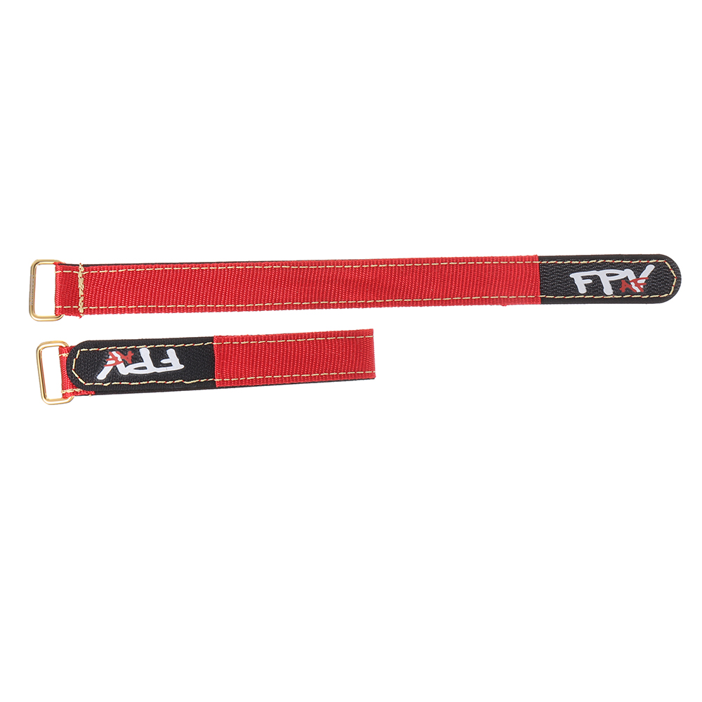 2Pcs RJX 20mm FPV AF Battery Strap Metal Buckle 150-400mm Length for RC Drone - Photo: 5