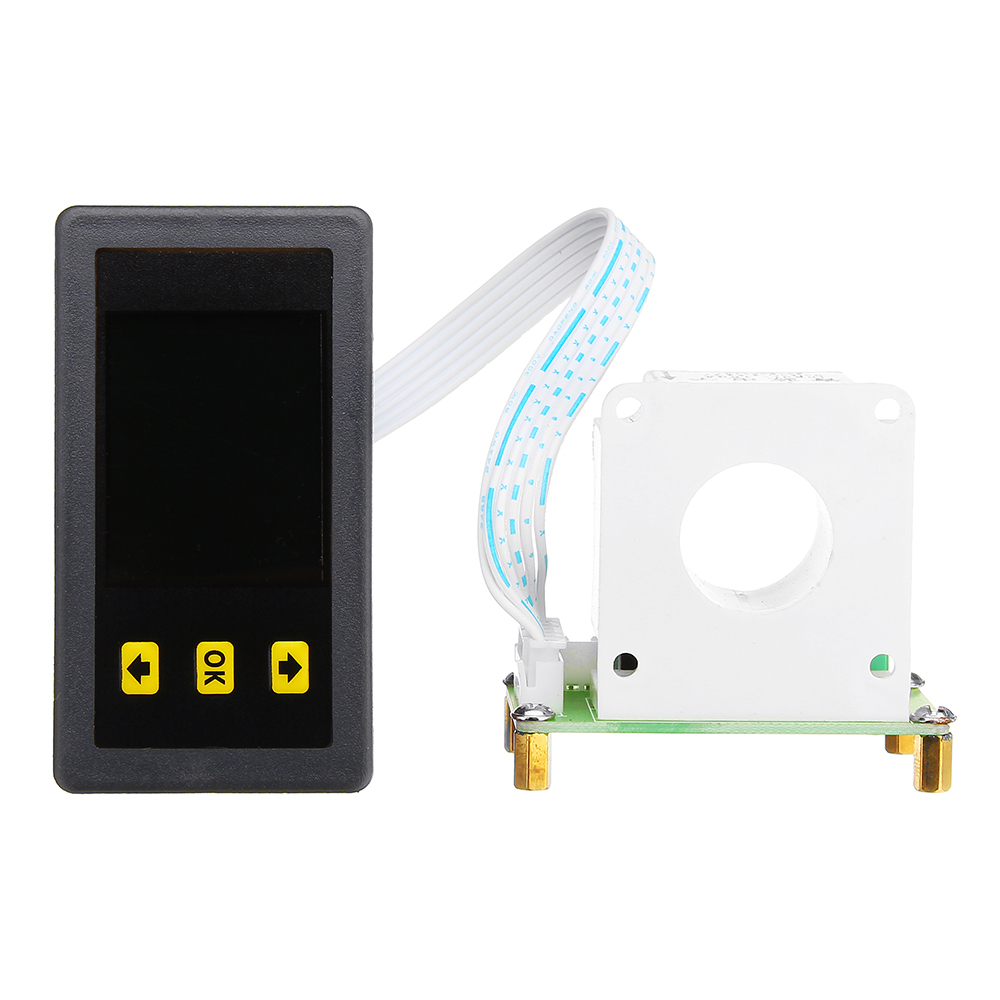 VAC9010H Holzer Coulomb / Color Liquid Crystal DC Two-way Voltage Current Capacity Meter Head / Band Communication