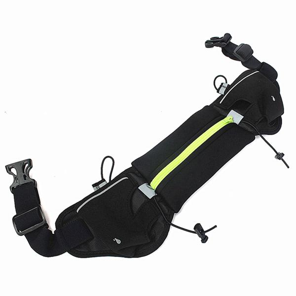 Outdoor Sport Runner Waist Bag Running Jogging Pouch Belt Elastic Waistband