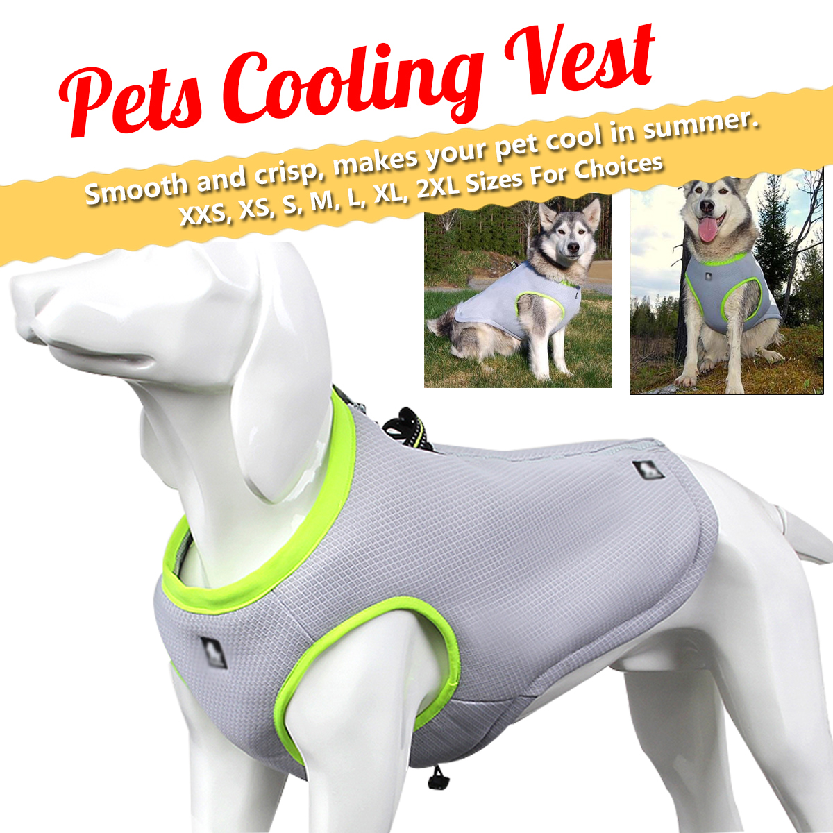 Hunting Dog Pet Vest Coat Breathable Sunscreen Cooling Tactical Clothing Jacket Dog Traction Rope