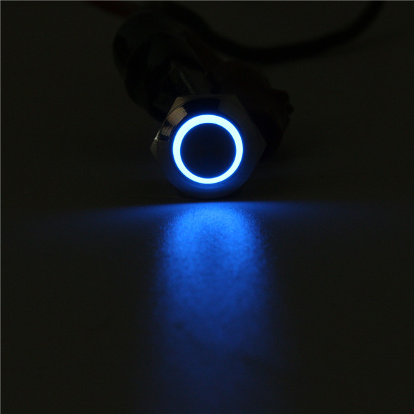 12mm 4 Pin LED Momentary High Push Button Switch