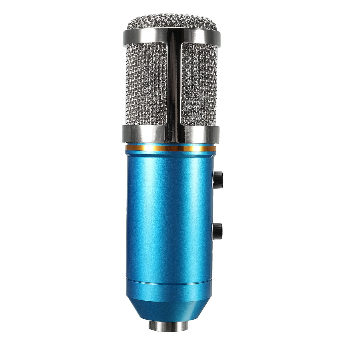 MK-F200TL Audio USB Condenser Microphone Sound Recording Vocal Microphone Mic Stand Mount