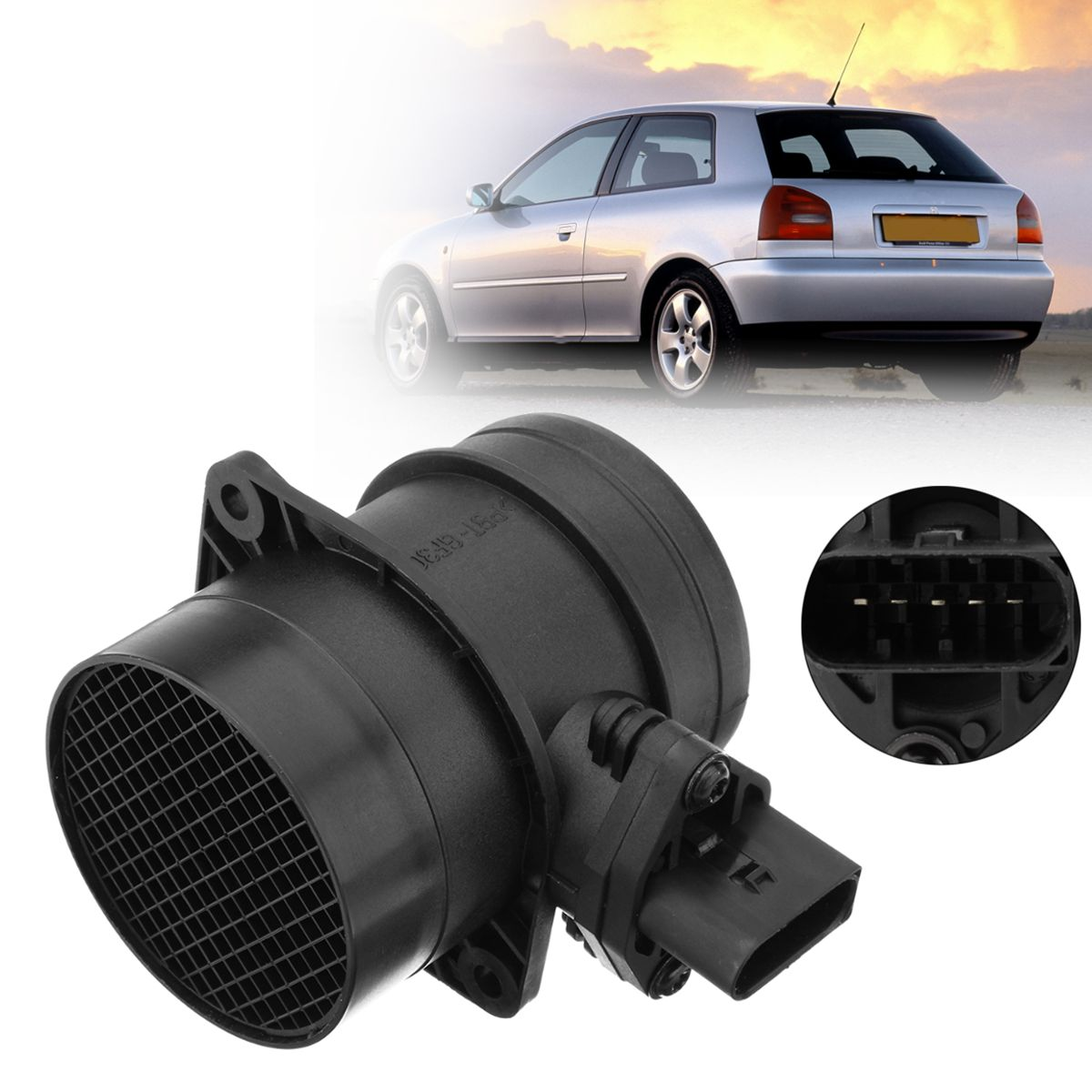 Mass Air Flow Sensor Meter MAF For Audi A3 A4 VW Bora Golf Passat Seat 1.9 TDI