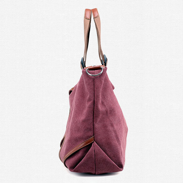 Women Canvas Large Capacity Casual Travel Tote Bag Handbag Crossbody Bag