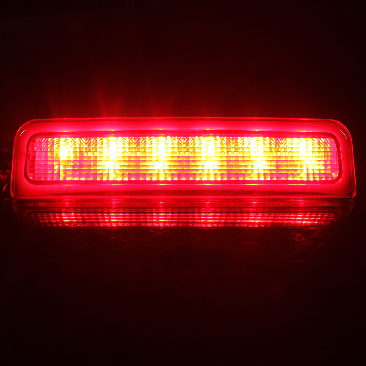 LED Car Rear High Mount Stop Lamp Third Brake Light Red for VW Caddy 2003-2014 2K0945087C
