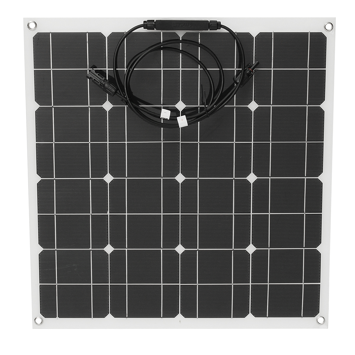 60W 12V Solar Panel Bendable Semi-Flexible Solar Battery Charger with MC4 For RV Car Motorcycle Boat
