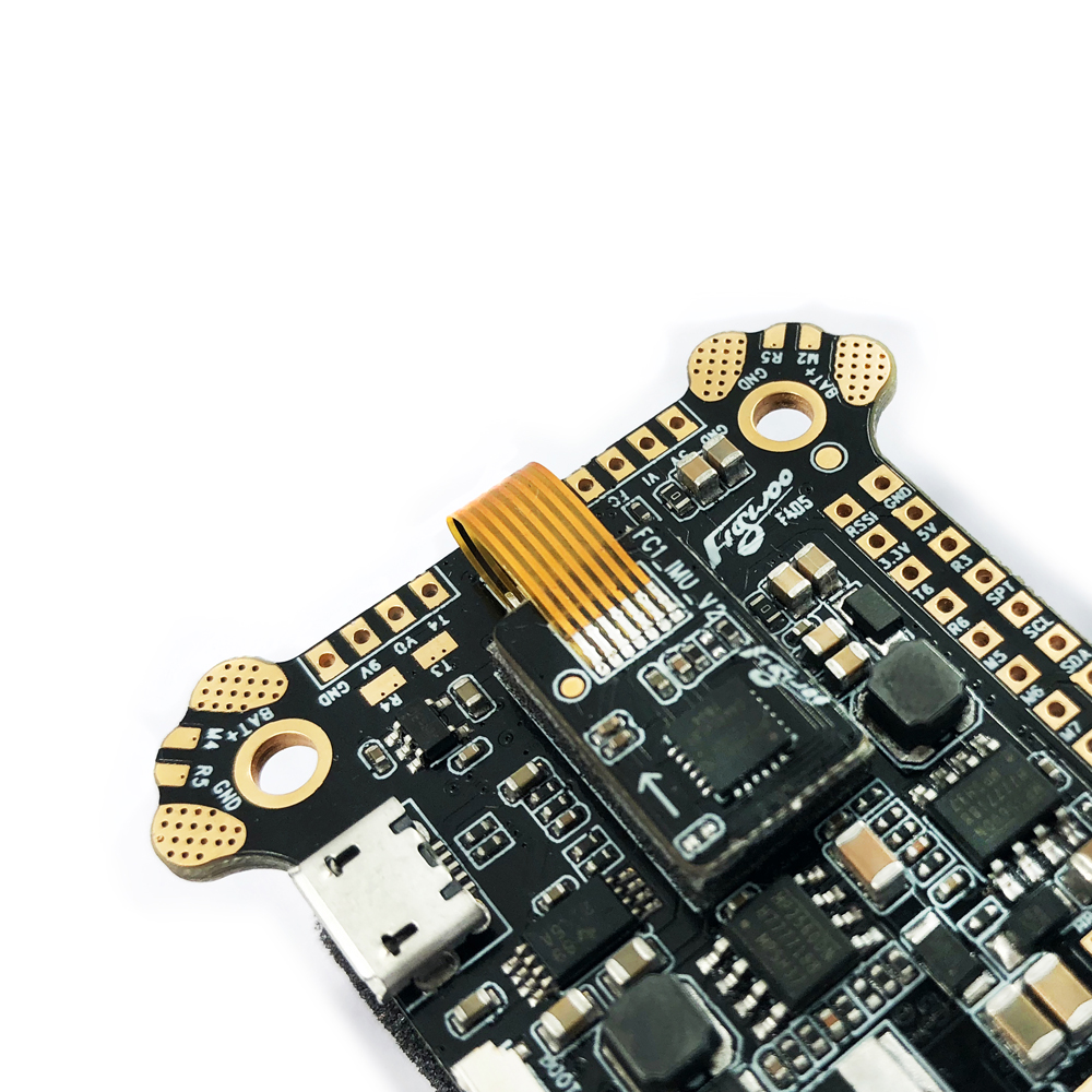 FLYWOO F405 AIO Flight Controller ICM20689 Built In OSD 5V 9V 2A BEC 3-8S For FPV Racing RC Drone - Photo: 3