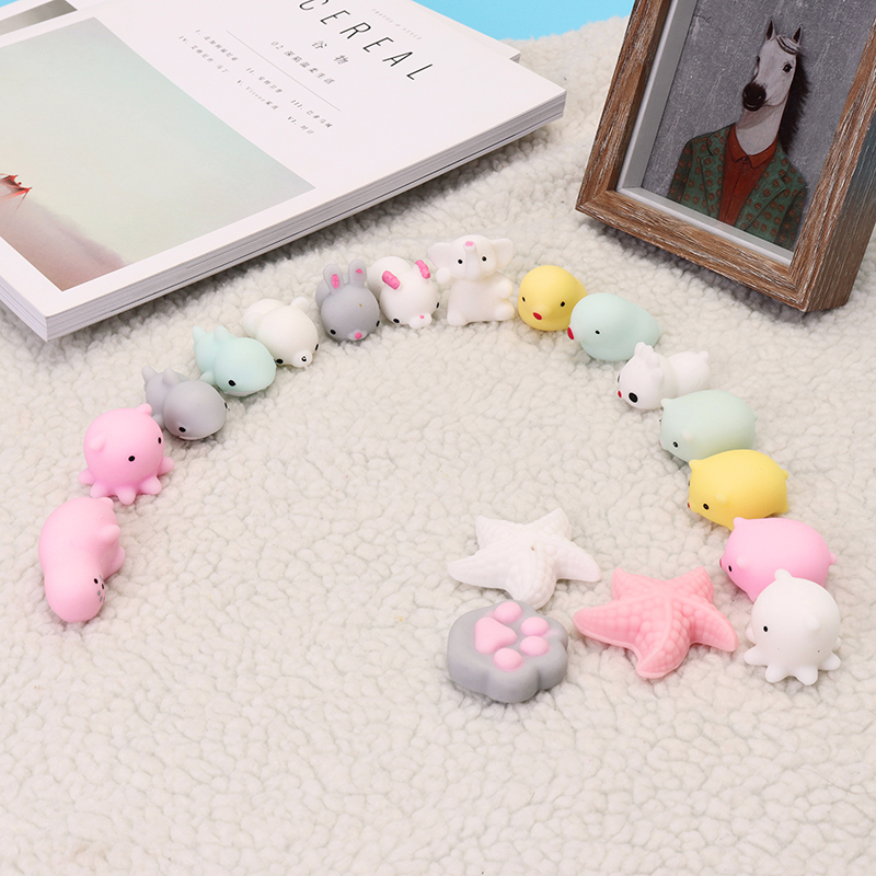 Cat Paw Claw Mochi Squishy Squeeze Healing Toy Kawaii Collection Stress Reliever Gift Decor