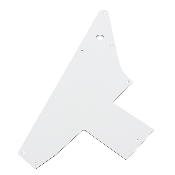 3 Ply White 76 Reissue Style For Gibson Explorer Guitar Pickguard Pick Guard