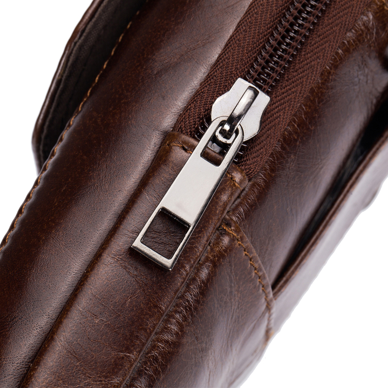Bullcapatain Vintage Mens Waist Phone Pouch