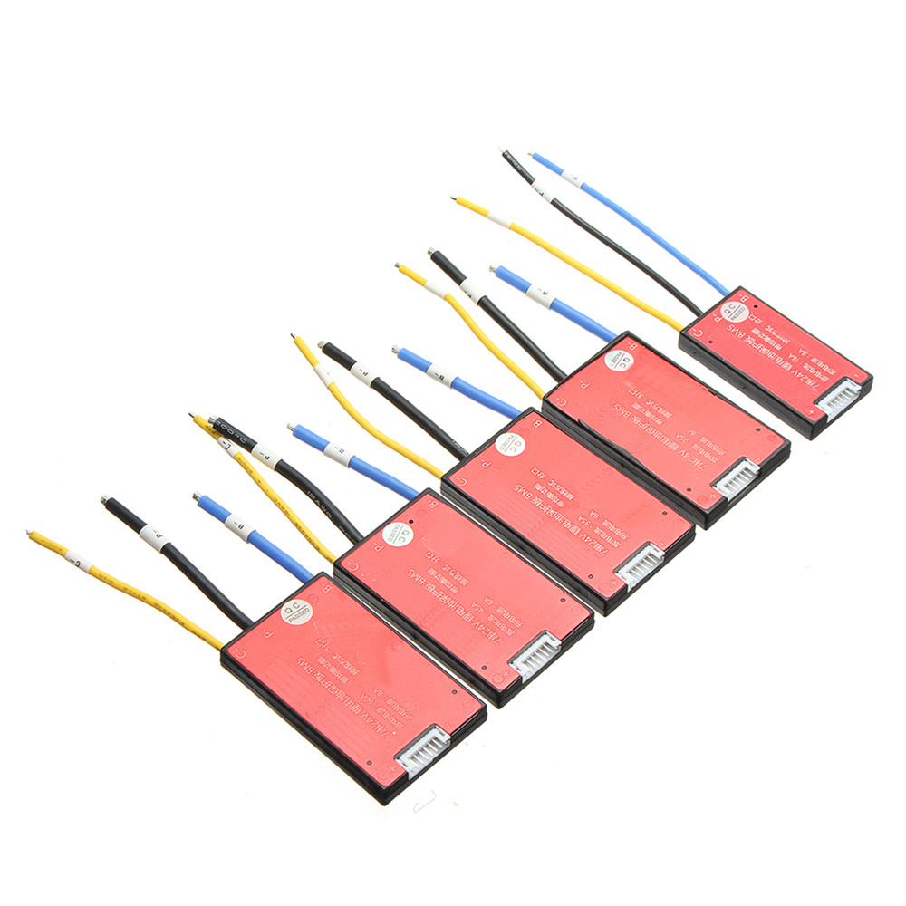 24V 7S 45A 18650 Li-ion Lipolymer Battery BMS PCB PCM Battery Protection Board for Ebike Ebicycle