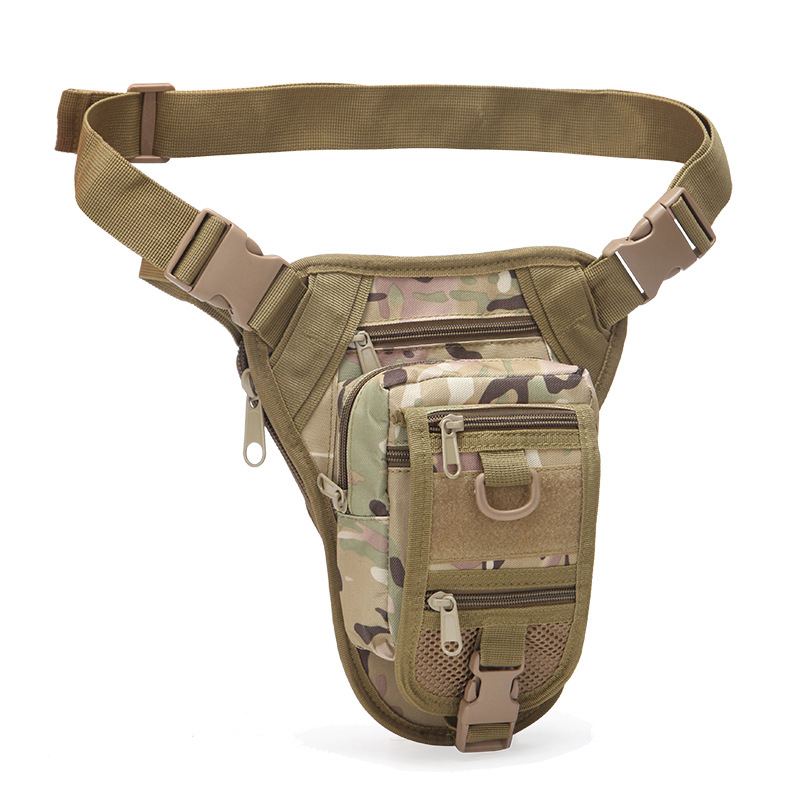 Camouflage Outdoor Pockets Tactical Legbag Waterproof Bag