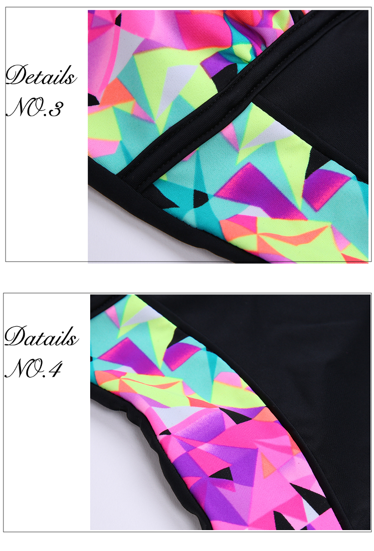 Wireless Boyshort One-Pieces Swimsuits