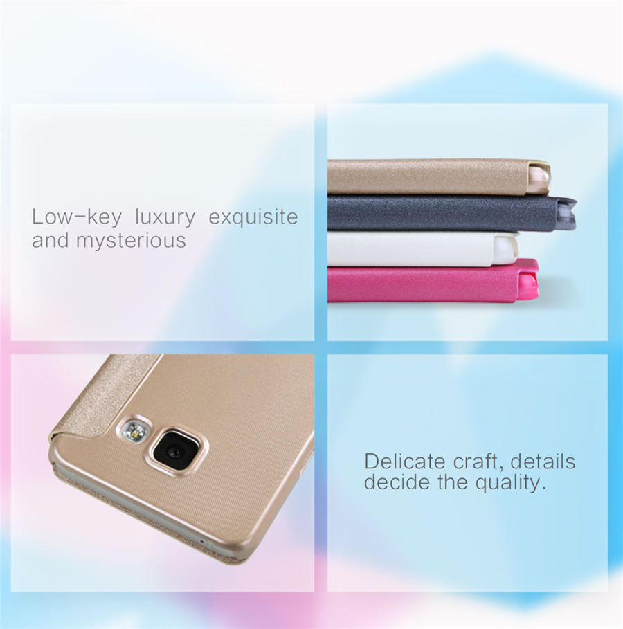 Nillkin Sparkle View Window Flip Leather Case For Samsung A3100 A310F