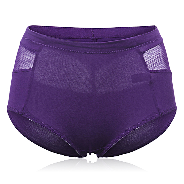 Women Sexy Smooth Pure Color Panties