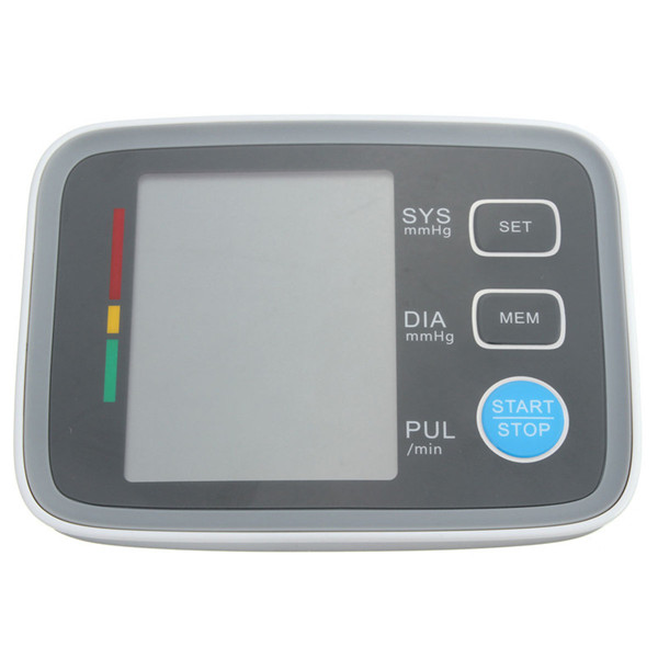 Digital Blood Pressure Monitor Heartbeat Arm Fully Auto