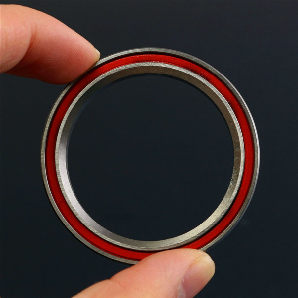 40x52x7mm Red Sealed 2RS P16 Taper ACB Angular Bearing For 1-1/2 Inch Headset Generic