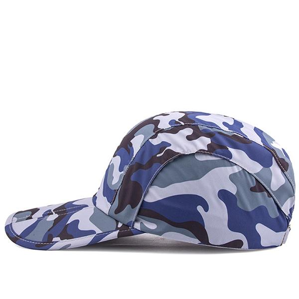 Camouflage Quick Dry Baseball Cap Outdoor Sport Sun Hats