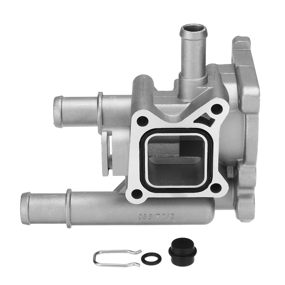 Aluminum Engine Coolant Thermostat With Housing For Chevrolet Cruze Aveo Vauxhall Opel Astra Zafira