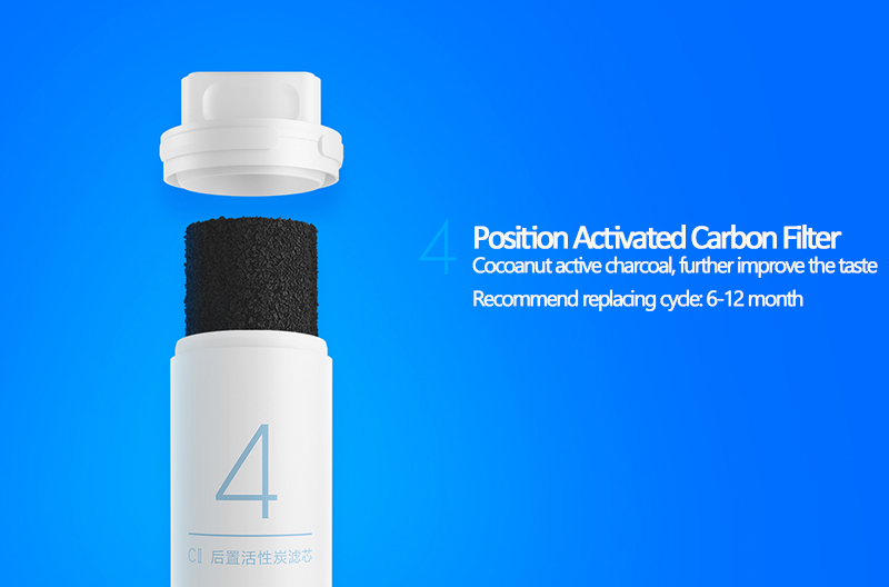 Original Xiao Mi Water Purifier Filter Replacement PP Cotton Activated Carbon Drinking Water Filter